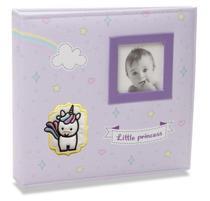 Álbum de Fotos Bebê Tecido 200 Fotos 10x15 814 - Ical