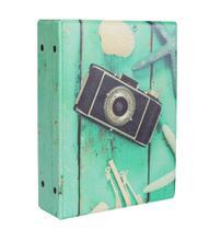 Álbum De Fotos Capa Verde Para 500 Fotos 10x15 - Álbuns E Fotos