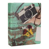 Álbum de Fotos Fichário Aquarela Câmera 500 Fotos 10x15 - 152628 - Tudoprafoto
