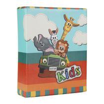 Álbum de Fotos Fichário Kids Safari 500 Fotos 10x15 - 173808 - Tudoprafoto