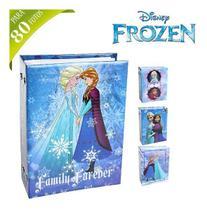Album De Fotos Infantil Recordação Infância Passeio Aniversario Para 80 Fotos 10x15cm Princesa Frozen - Etipel