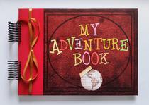 Álbum de fotos para scrapbook My Adventure Book 22x30cm presente namorados - Viva O Amor Ateliê