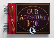 Álbum de fotos para scrapbook Our Adventure Book 15,7x21,5cm presente namorados - Viva O Amor Ateliê