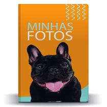 Álbum de Fotos Pet Buldogue Francês p/ 500 Fotos 10x15 - Tudoprafoto