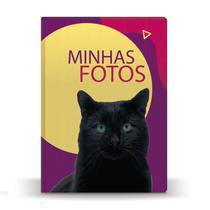 Álbum de Fotos Pet Cat Preto para 500 Fotos 10x15 - Tudoprafoto