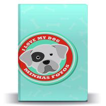 Álbum de Fotos Pet Dog Boxer p/ 500 Fotos 10x15 - Tudoprafoto