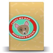 Álbum de Fotos Pet Dog Bull Terrier p/ 500 Fotos 10x15 - Tudoprafoto