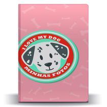 Álbum de Fotos Pet Dog Dálmata para 500 Fotos 10x15 - Tudoprafoto