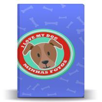 Álbum de Fotos Pet Dog Pitbull para 500 Fotos 10x15 - Tudoprafoto
