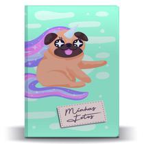 Álbum de Fotos Pet Pug Unicórnio para 500 Fotos 10x15 - Tudoprafoto