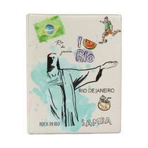 Álbum de Fotos Rio de Janeiro para 500 fotos 10x15 - 10004 - Tudoprafoto