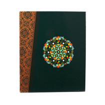 Álbum De Fotos Verde Retrô Mandala Para 500 Fotos 10x15cm - Bv Álbuns