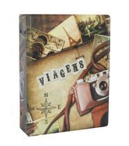 Álbum De Fotos Viagens Para 500 Fotos 10x15 - Álbuns E Fotos