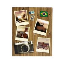 Álbum De Fotos Viagens Retrô Brasil Para 500 Fotos 10x15cm - Bv Álbuns