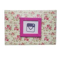 Álbum de Fotos Yes 100 Fotos 10x15cm Floral Rosa -