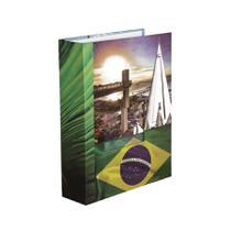 Álbum de Viagem 100 fotos 15x21 Capa Dura Janela personalizável - Yes