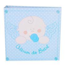 Álbum Do Bebe 200 Fotos 10x15 Mimos Azul 300/03 - Recoradari