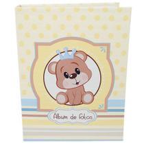 Álbum Do Bebê - 80 Fotos 15x21- Desenho Urso Principe Ical -