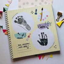 Álbum do Bebê - AMARELO - Coloré Design
