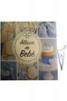 Álbum do bebê - capa azul - Vale Das Letras
