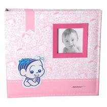 Álbum do Bebê Turma da Mônica C/ caixa 200 Fotos 10x15 Ical 850 -
