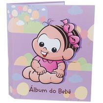 Álbum do Bebê Turma da Mônica Fichário 120 fotos 10x15  Ical 30 -