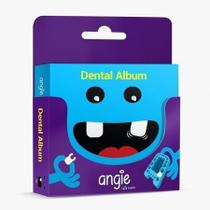 Album e estojo para dente de leite Premium Azul - Angie -