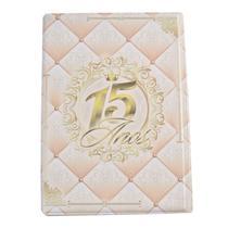 Álbum + Estojo 15 Anos 120 Fotos 15x21cm Design 11388-A0756 -