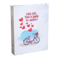 Álbum Eventos 80 Fotos 15x21 Para Nós, Todo Amor Namorados - Ical