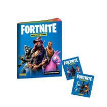 Álbum Figurinhas Brochura Fortnite + 60 Figurinhas - DTC -