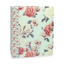 Álbum Floral Ferragem Rosas com Fundo Azul 200 Fotos 10X15 - iCal