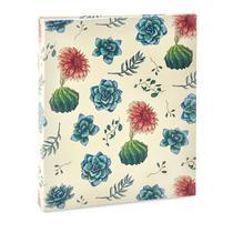 Album Floral Ical 200 Fotos 10x15 Flor Branco/vermelho -