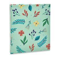 Album Floral Ical 200 Fotos 10x15 Verde Agua -
