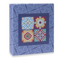 Album Formas Ical 200 Fotos 10x15 Mosaico Azul -