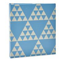 Album Formas Ical 200 Fotos 10x15 Triangulo Azul -