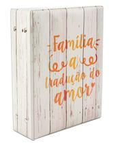 Album Fotografico Amor Familia P/ 500 Fotos 10x15 755455 - Bv Álbuns