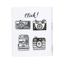 Álbum Fotográfico Retrô Click Para 500 Fotos 10x15 - Bv Álbuns