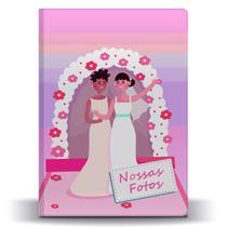 Álbum Fotos Casamento Colorido Noivas Floral 500 Fotos 10x15 - Tudoprafoto