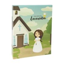 Album fotos Minha Primeira Eucaristia menina 40 fotos 15x21 - Ical