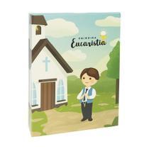 Album fotos Minha Primeira Eucaristia menino  40 fotos 15x21 - Ical