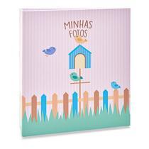 Álbum Infantil Rebites 120 Fotos 10x15 Ical Casa Bird -