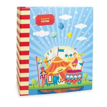 Álbum Infantil Rebites 500 Fotos 10x15 Ical Circo -