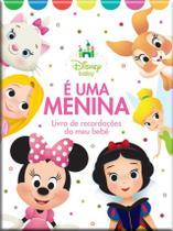 Álbum Livro Recordações Meu Bebê Menina Disney Bicho Esperto -