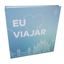 Álbum Mega Ferragem 500 Fotos 10x15cm Azul - Ical 556 -