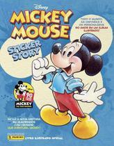 Álbum mickey 90 anos + 100 figurinhas + 20 cards - Panini