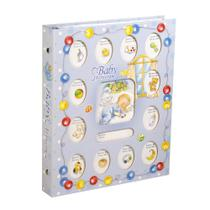 Album para Fotografias Baby para 80 Fotos 10x15cm Azul 1 UN Yes -