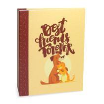 Álbum Pet Lovers Rebites Cão Gato Best Friends 160 Fotos 10X15 - Ical
