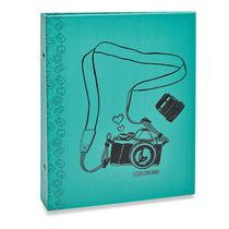 Álbum Photo Lovers 160 Fotos 10x15 Camera Azul - Ical