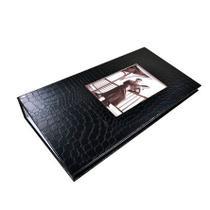 Álbum Preto Com Visor Para 300 Fotos 10X15 - Square Center