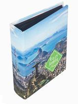 Álbum Rio De Janeiro 200 Fotos Fullway 24x19x6cm - Gbr21